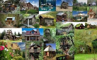 Fotos de cabañas en comunidades rurales