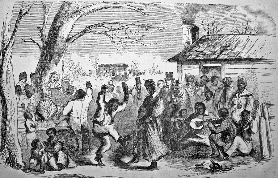 dance African american slave