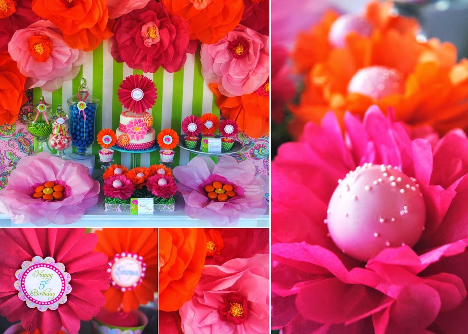Gwynn Wasson Designs: Tutorial: Cake Pop Flowers