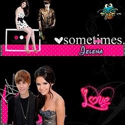 Selena y Justin (L)