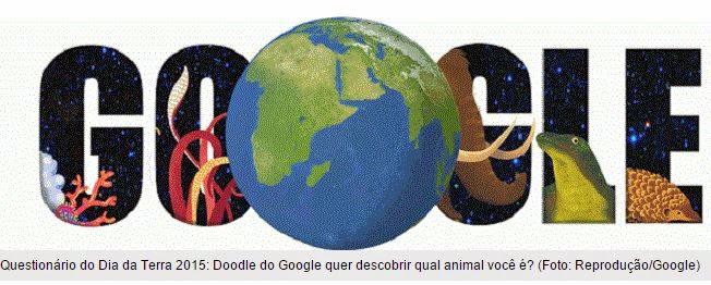 Dia da Terra no Google: Doodle mostra 'que bicho você é' com quiz