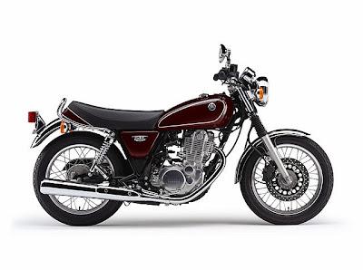 Yamaha SR400 2014 binh xang