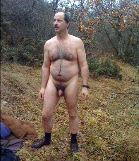 Naked Hairy Man Rough Se