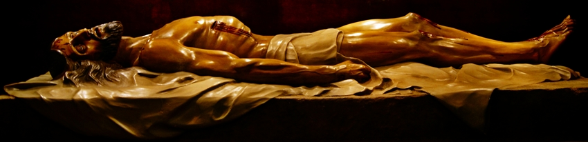 risto Yacente. Cofradía de Nuestra Señora de las Angustias y Soledad. León. Foto G. Márquez