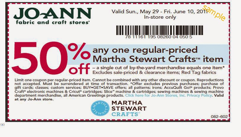 Joann coupon codes