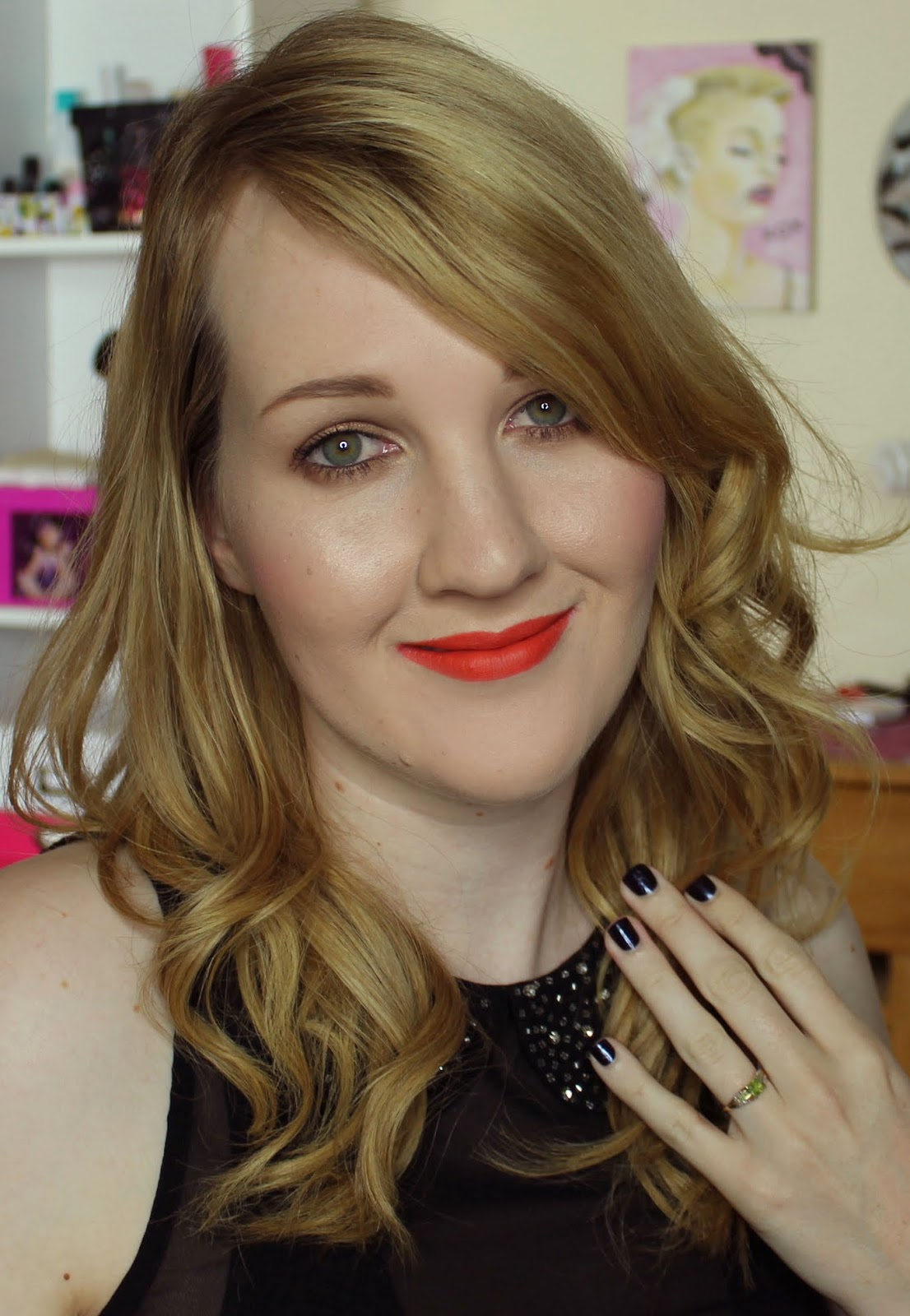 Etude House Vivid Pop Stick #7 California Girl Swatches & Review