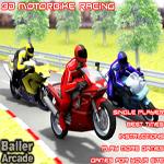 سباق الدراجات النارية 3D