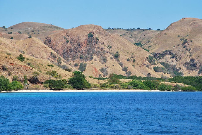 Playa en una isla