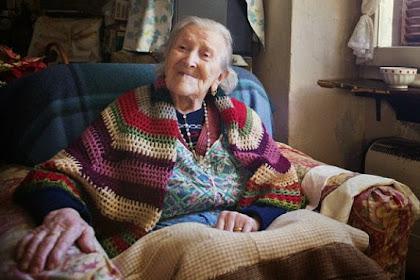 Rahasia Panjang Umur Wanita Tertua di Eropa