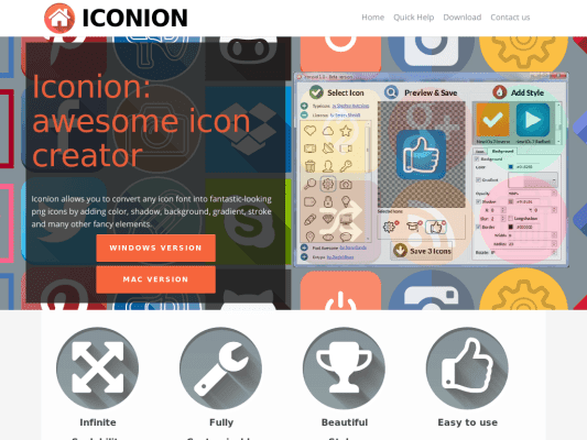 Iconion: Free icon Maker