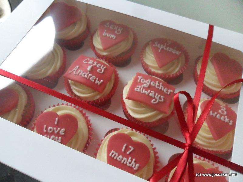 valentines day cupcakes - Cupcake Valentine Box