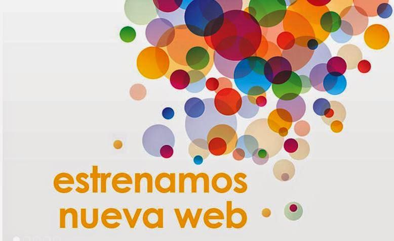 ¡¡ESTRENAMOS NUEVA PÁGINA WEB!!