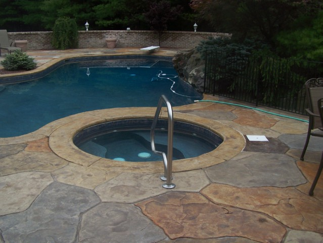 A Stamped Concrete Patio Gives You The Look And Texture Of A Stone Patio  For A Lot Less Than The Real Thing U2014 Up To 50% Less Than The Cost Of  Natural ...
