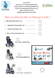 Donate a Wheel-Chair Change a Life !