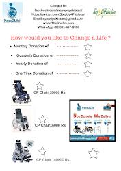 Donate a Wheel-Chair Change a Life !