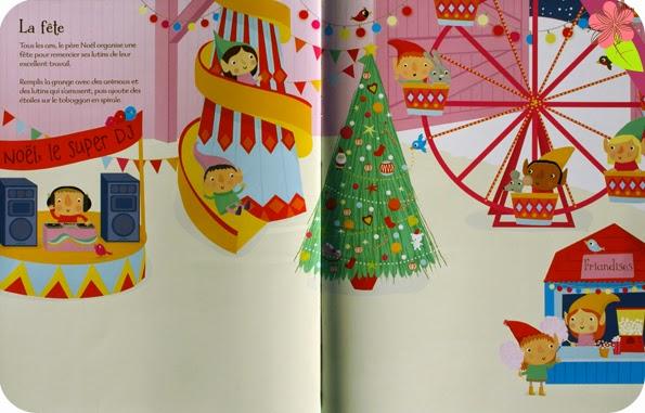 L'atelier du père Noël - Autocollants Usborne