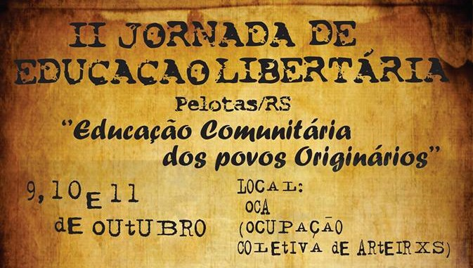 II Jornada de Educação Libertária