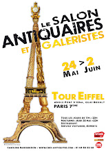 PARIS 7ème-TOUR EIFFEL : CAPTON AU SALON ANTIQUAIRES ET GALERISTES DE LA TOUR EIFFEL