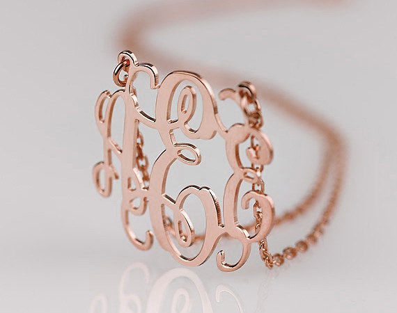 Manimonday by lma what i 39 m loving for Rose gold personalized jewelry