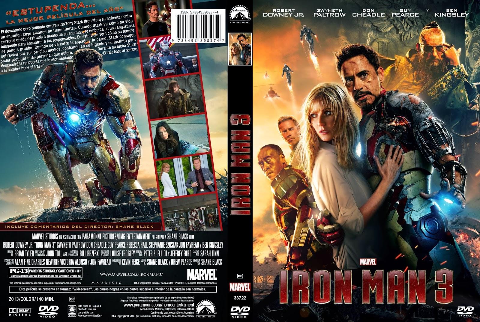 Iron Man 3 Hdrip Castellano 2013