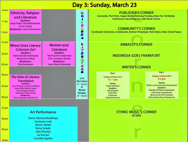 ASEAN Literary Festival Hari Ketiga