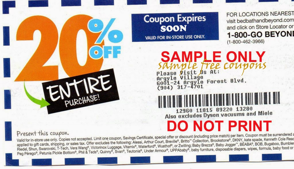 Bed Bath Beyond Mail Coupons
