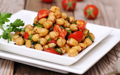 Properties of chickpeas