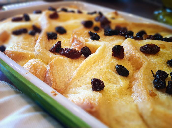 The Greedy Fork: Basic Bread & Butter Pudding