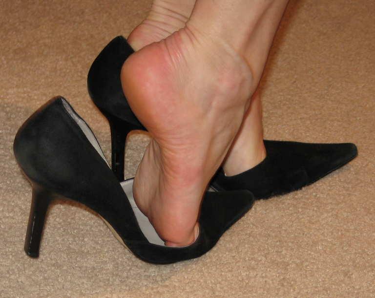 fetichismo de pie de mujer: