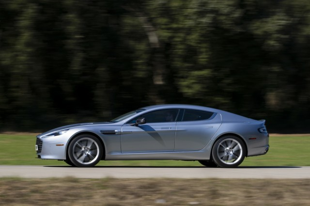 Review and Pictures of 2014 Aston Martin Rapide S Sedan