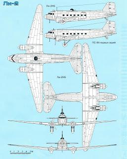характеристики и чертежи Ли-2
