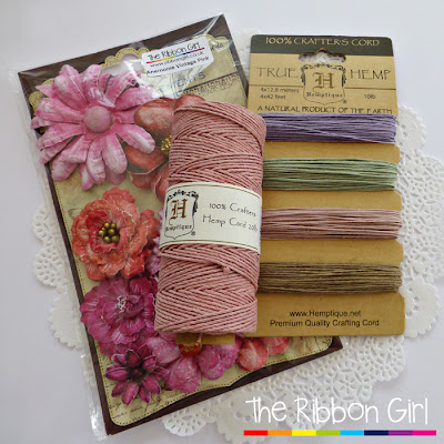 Twine and flowers giveaway