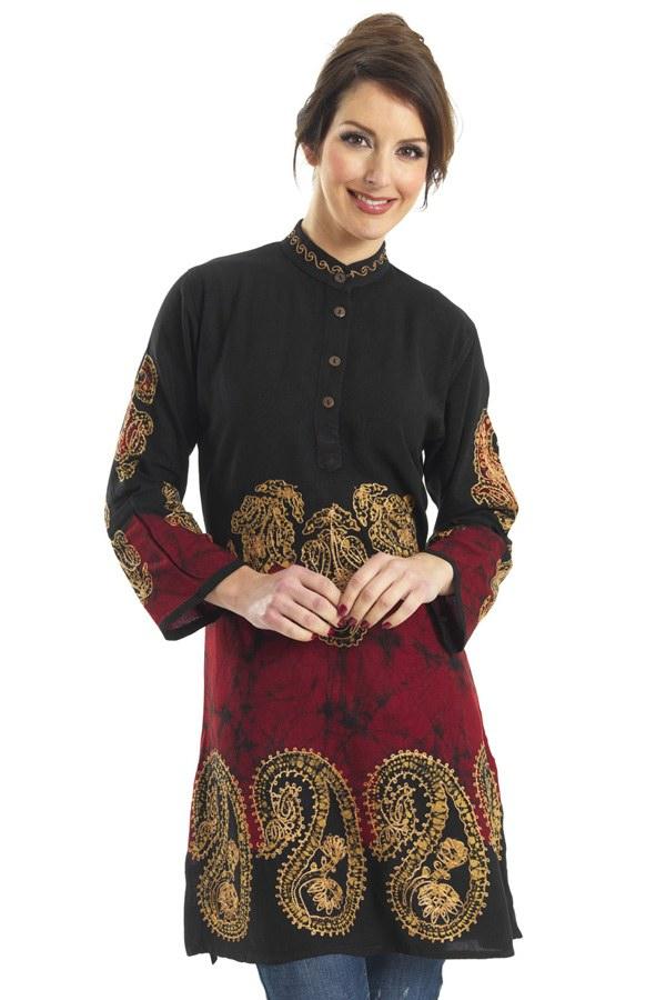 Indian Tunic Kurti Designs 2013 | Indian Tunic Kurti's By RupaliOnline - She9 | Change the Life ...