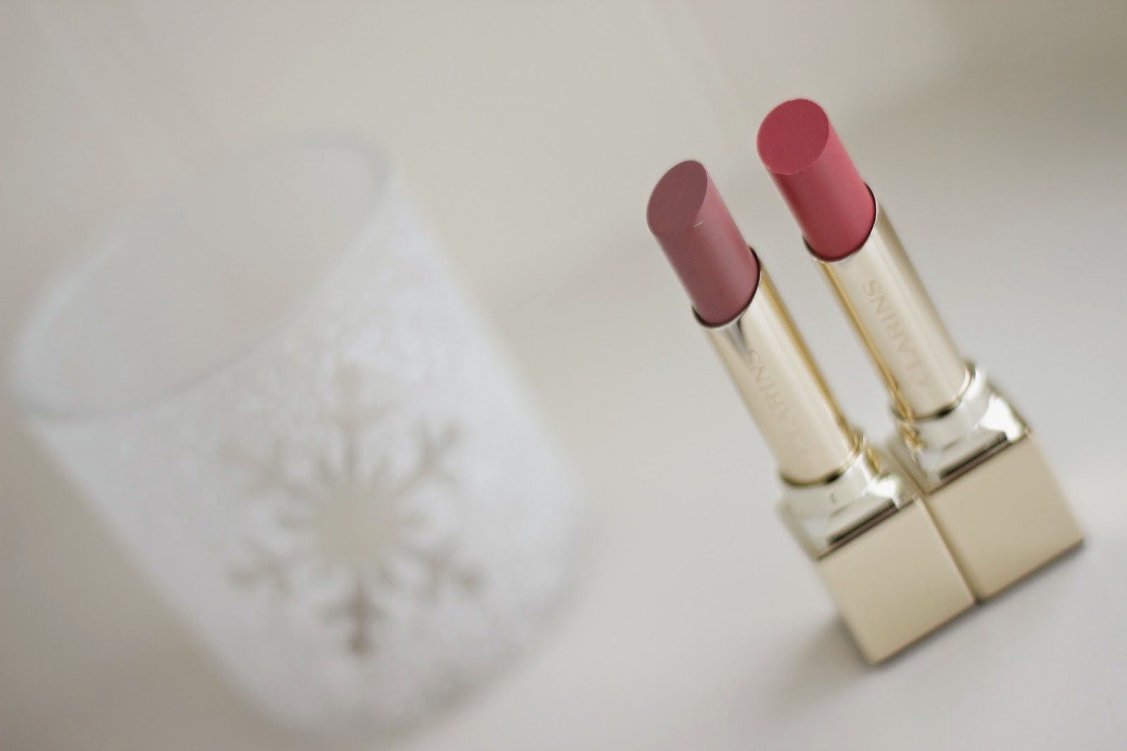 review swatches clarins rouge eclat lipsticks