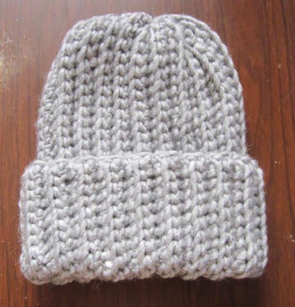 Homestead Acres: Crochet Ribbed Hat