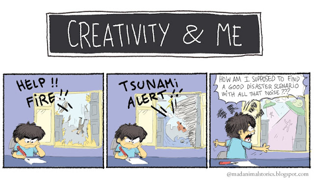 Creativity and Me - disaster scenario
