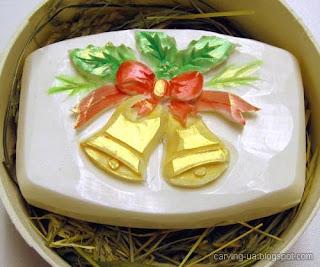 карвинг по мылу на подарок