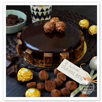 Tarta Muerte Por Chocolate / Death By Chocolate Layer Cake