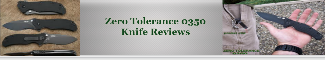 Zero Tolerance 0350 - Knife Reviews