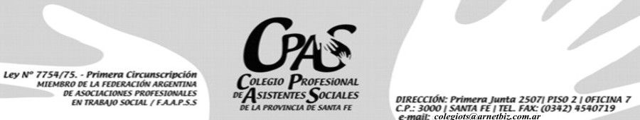 Colegio Profesional de Asistentes Sociales de la Provincia de Santa Fe