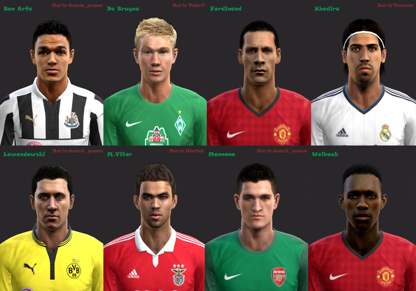 Download International Facepack PES 2013 by Rianwartok | Mediafire