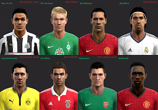 Facepack PES 2013 by Ryan Wartok