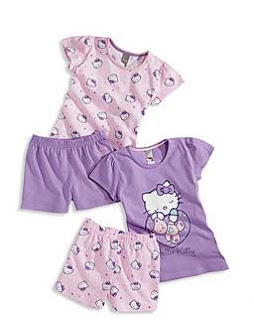 Pijama Hello Kitty niña primavera/verano 2012.