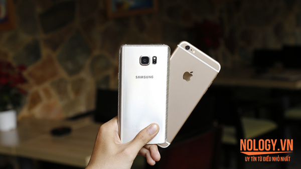 Điện thoại iPhone 6 Plus lock và Galaxy Note 5