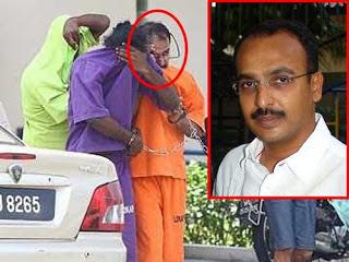 kes bunuh sosilawati, gambar peguan N Pathmanabhan,gambar pembunuh jutawan kosmetik sosilawati lawiya,sosilawati lawiya murder