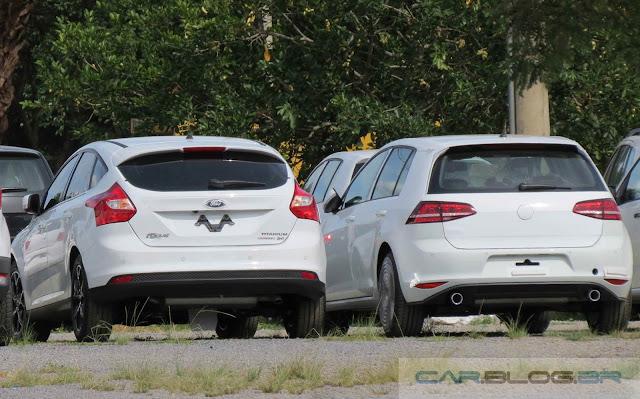 Volkswagen Golf 2015 x Ford Focus 2015