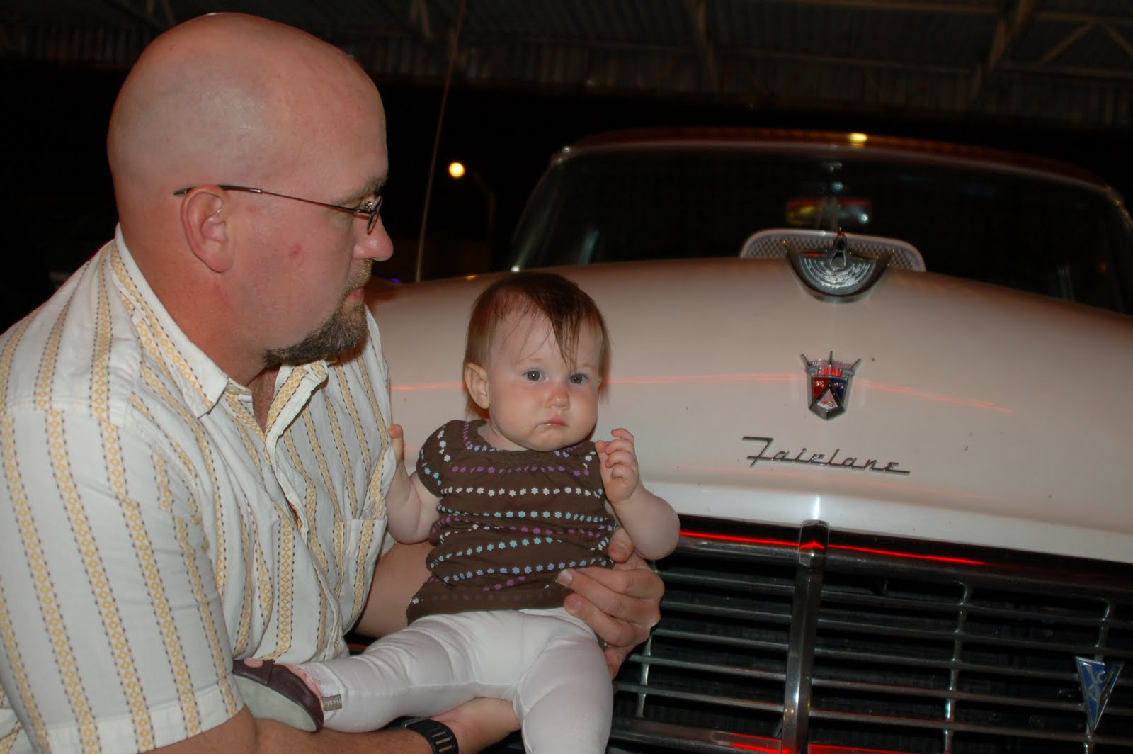classic Ford Fairlane.
