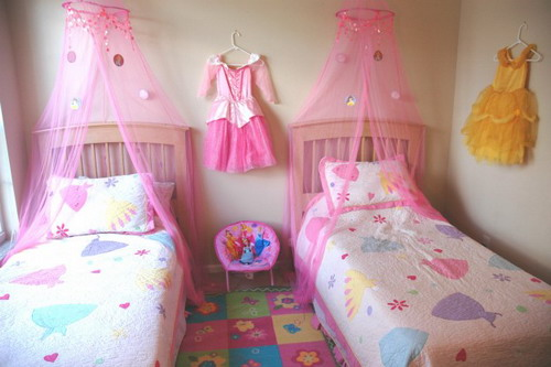 Good tips on how to design the perfect princess room decor for Princess bedroom design