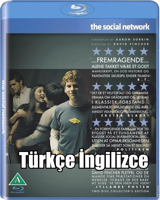 The Social Network - Sosyal Ağ 2010 Bluray 720p İndir