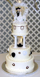 Country Western Wedding Cakes Gallery